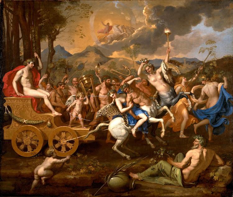 Nicolas Poussin - The Triumph of Bacchus