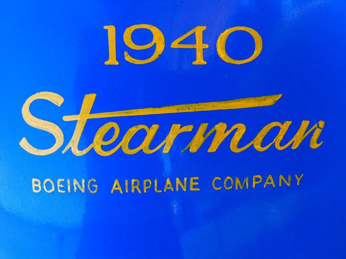 Un des plus anciens Stearman