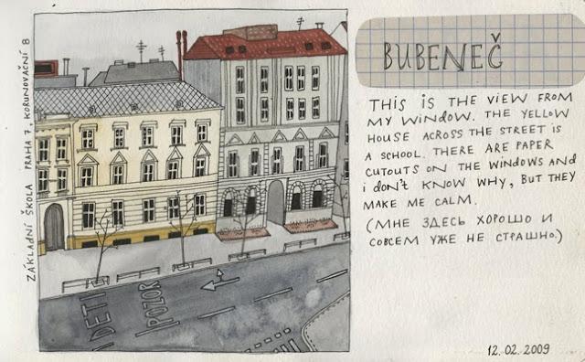 Yelena Bryksenkova sketchbook 2