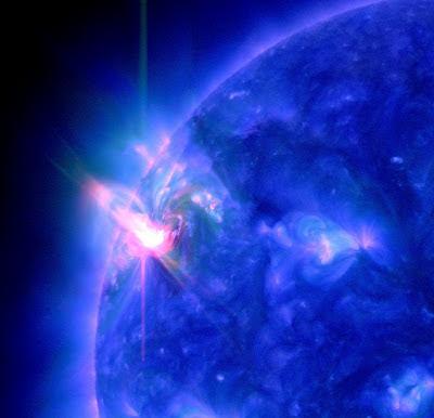 Llamarada solar clase M2.0, 4 de Marzo de 2012