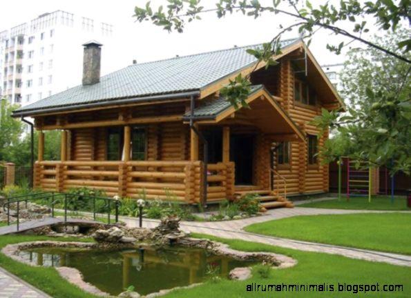 rumah kayu minimalis terbaru  Cara Mendesain Rumah