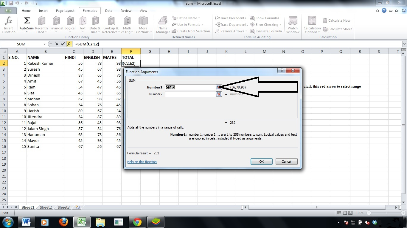how to avoid circular refernecing in excel