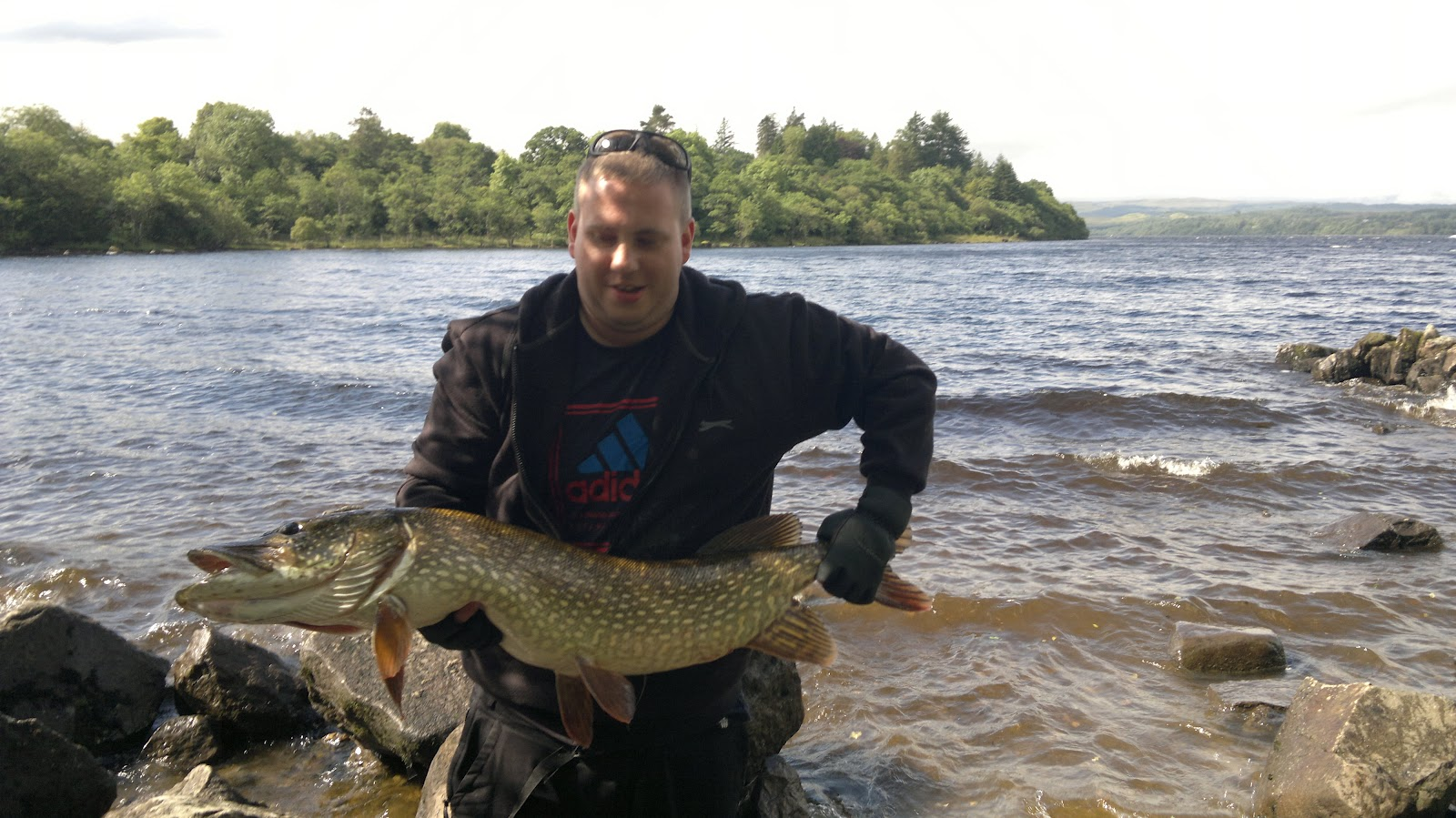 Fish of the month august entry awe pike for Loch lomond fishing