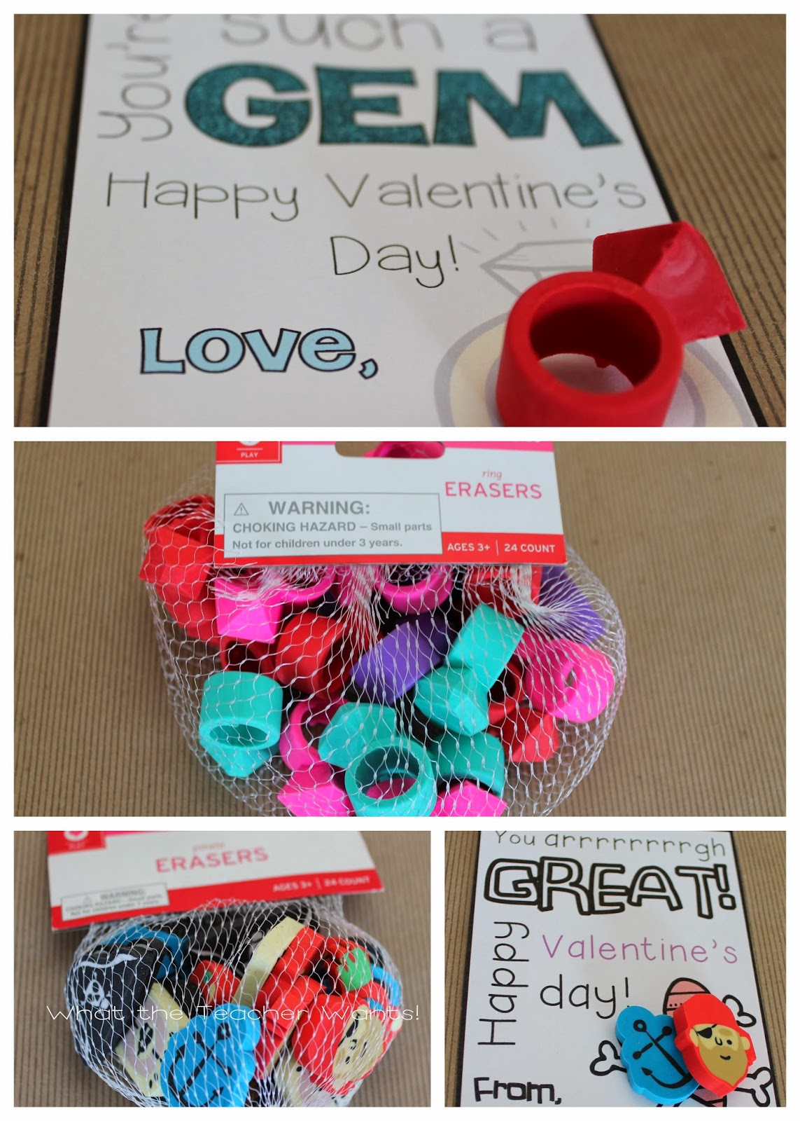 what the teacher wants 13 non food valentine ideas with printables