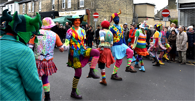 Gog Magog Molly dancing in Oxford
