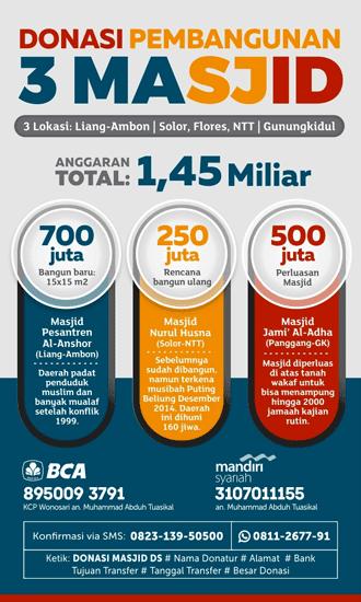 Donasi Pembangunan Masjid