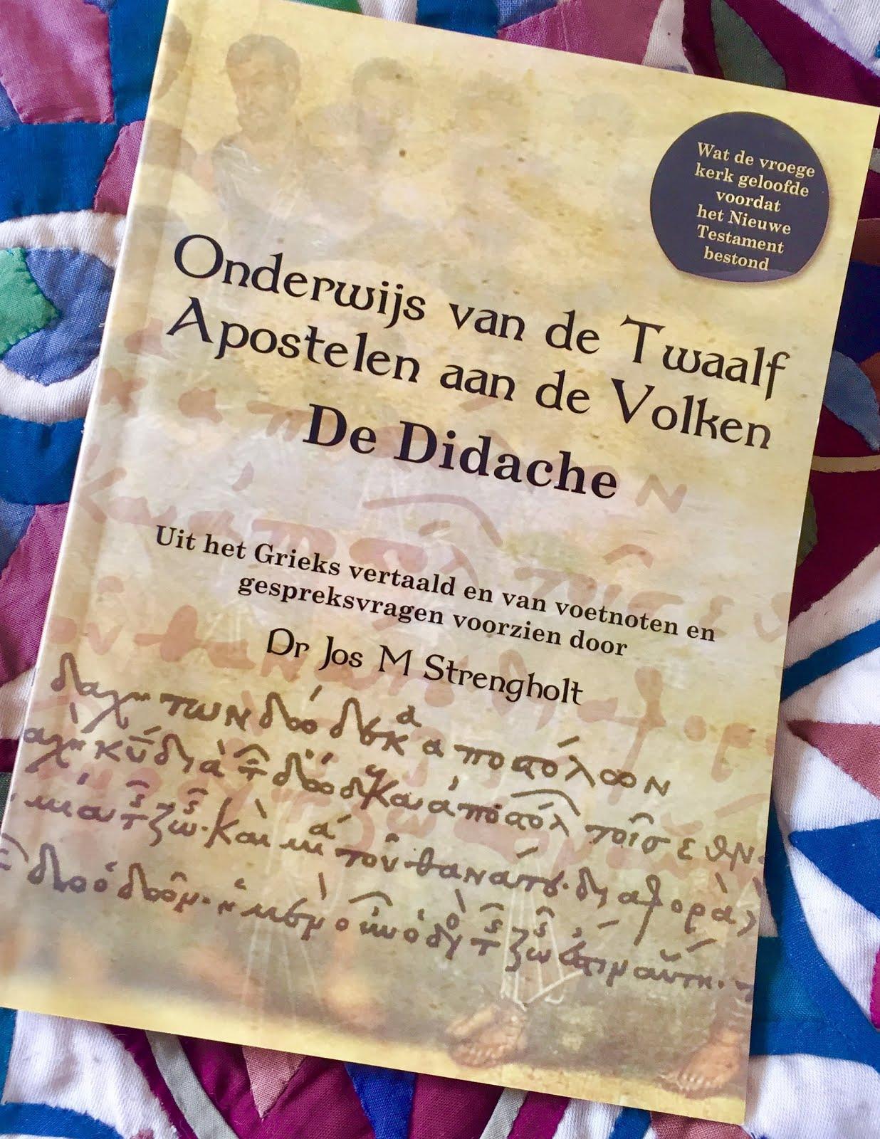 De Didache: 7.95 euro incl verzenden