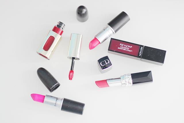 current favourite lipsticks