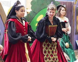 Royal Court at Renaissance Festival in Deerfield Beach