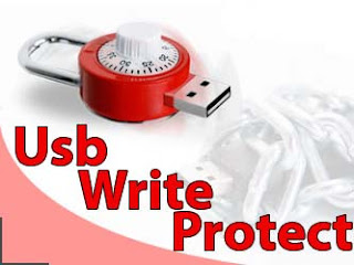 how to undo write protected flash drive