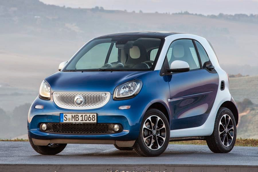 Smart ForTwo Coupé (2015) Front Side