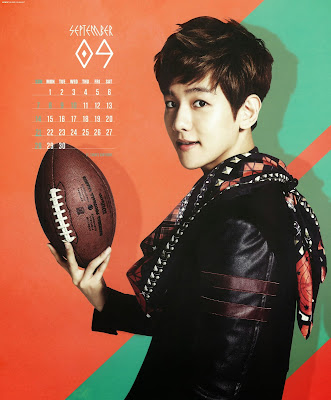 exo calendar 2014 baekhyun