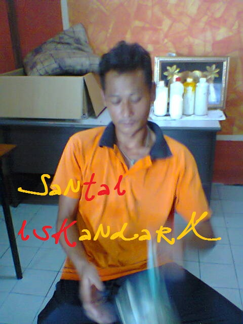 Santai-iskandarX-Flat-Ijau-Din-baru-balik-dari-menangkap-ikan-talatia-iskandarx.blogspot.com