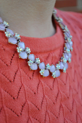 Flashback Summer- 1940s casual outfit, 1950s necklace