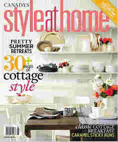 Style at Home Magazine | Interior design magazine - August 2013