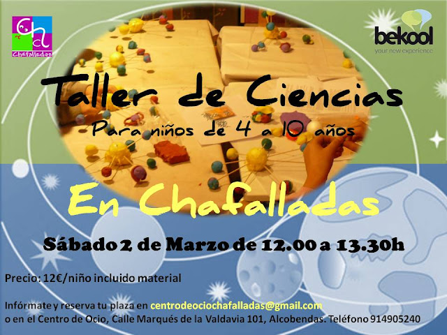 taller de ciencias en Chafalladas
