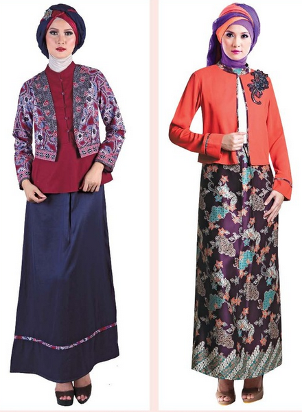 Gamis Modern Remaja Dan Batik Model Terbaru Muslimah