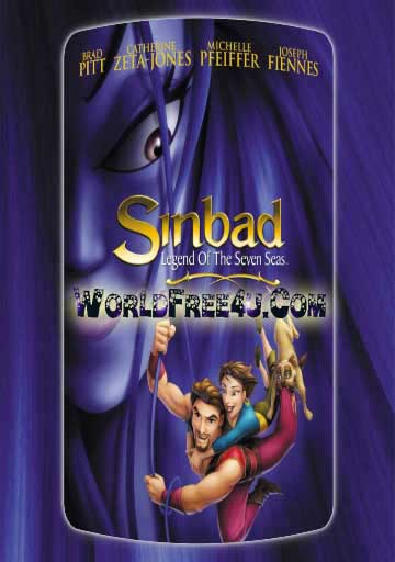 Poster Of Sinbad Legend of the Seven Seas (2003) In Hindi English Dual Audio 300MB Compressed Small Size Pc Movie Free Download Only At worldfree4u.com