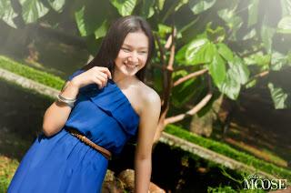 Foto Indri Giana menjadi Model