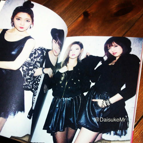 Photo Caps T-ara 'Private Book'