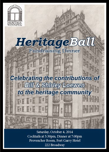 Heritage Ball Fundraising Dinner Invitation