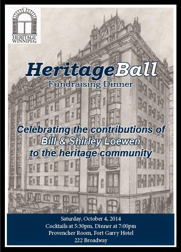 Heritage Ball Fundraising Dinner Invitation