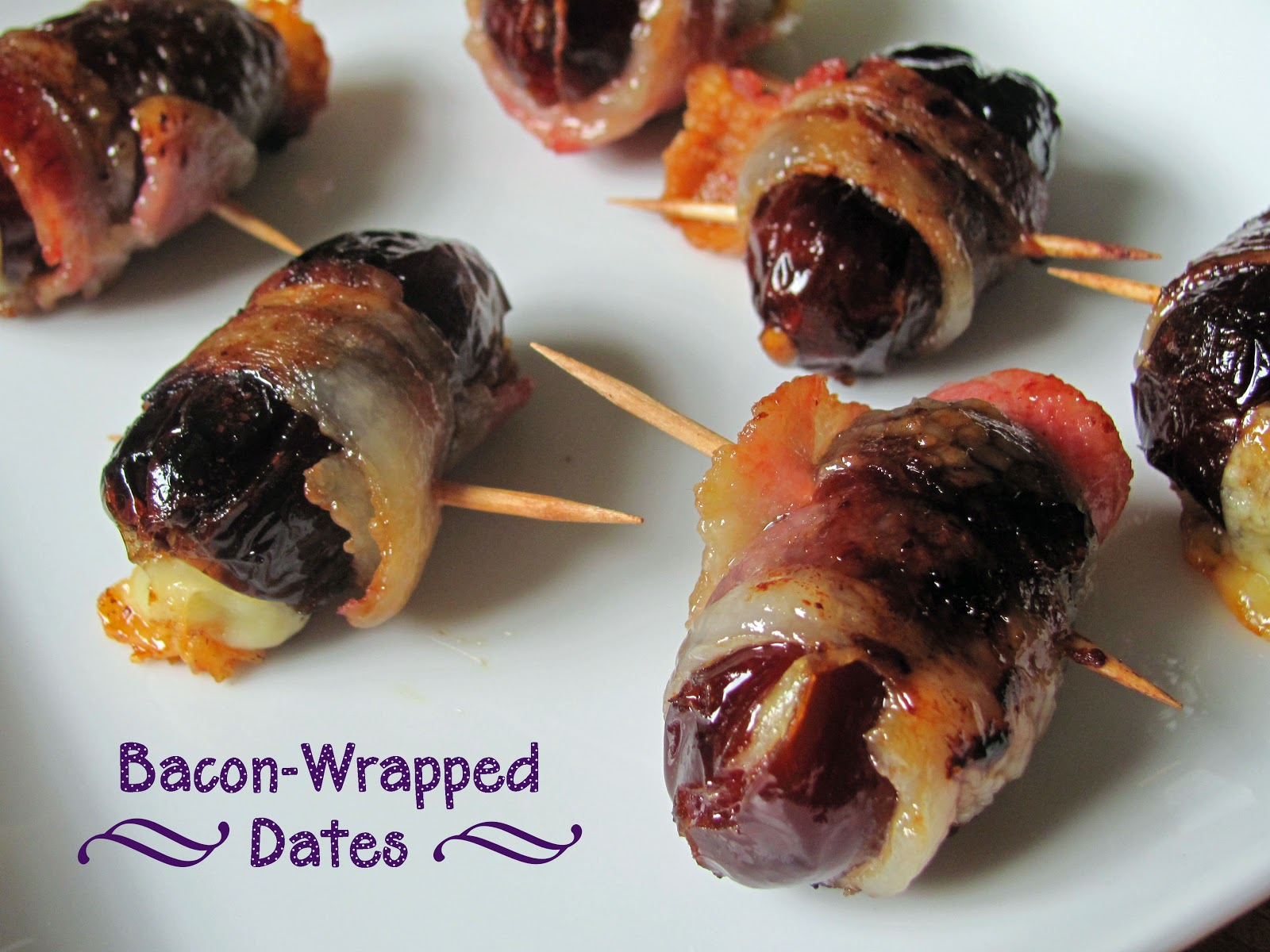 Bacon wrapped dates in Brisbane