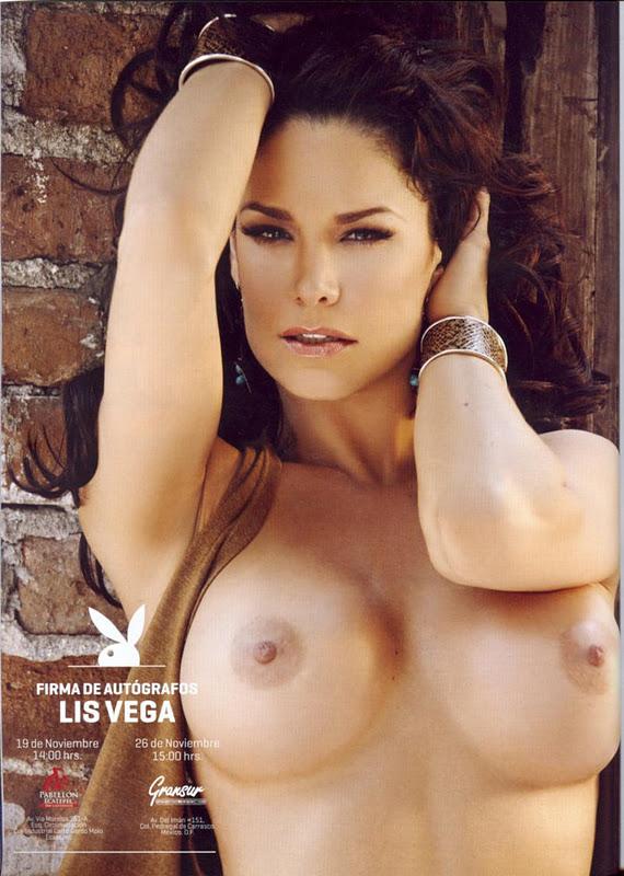 Sexy Naked Women: Hot Mexican Liz Vega in Playboy