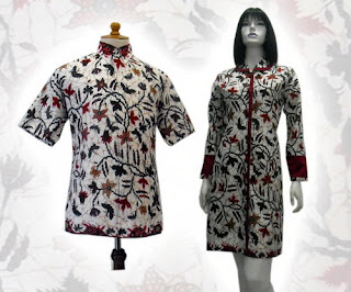 PO A21 MODEL BAJU BATIK WANITA MODERN