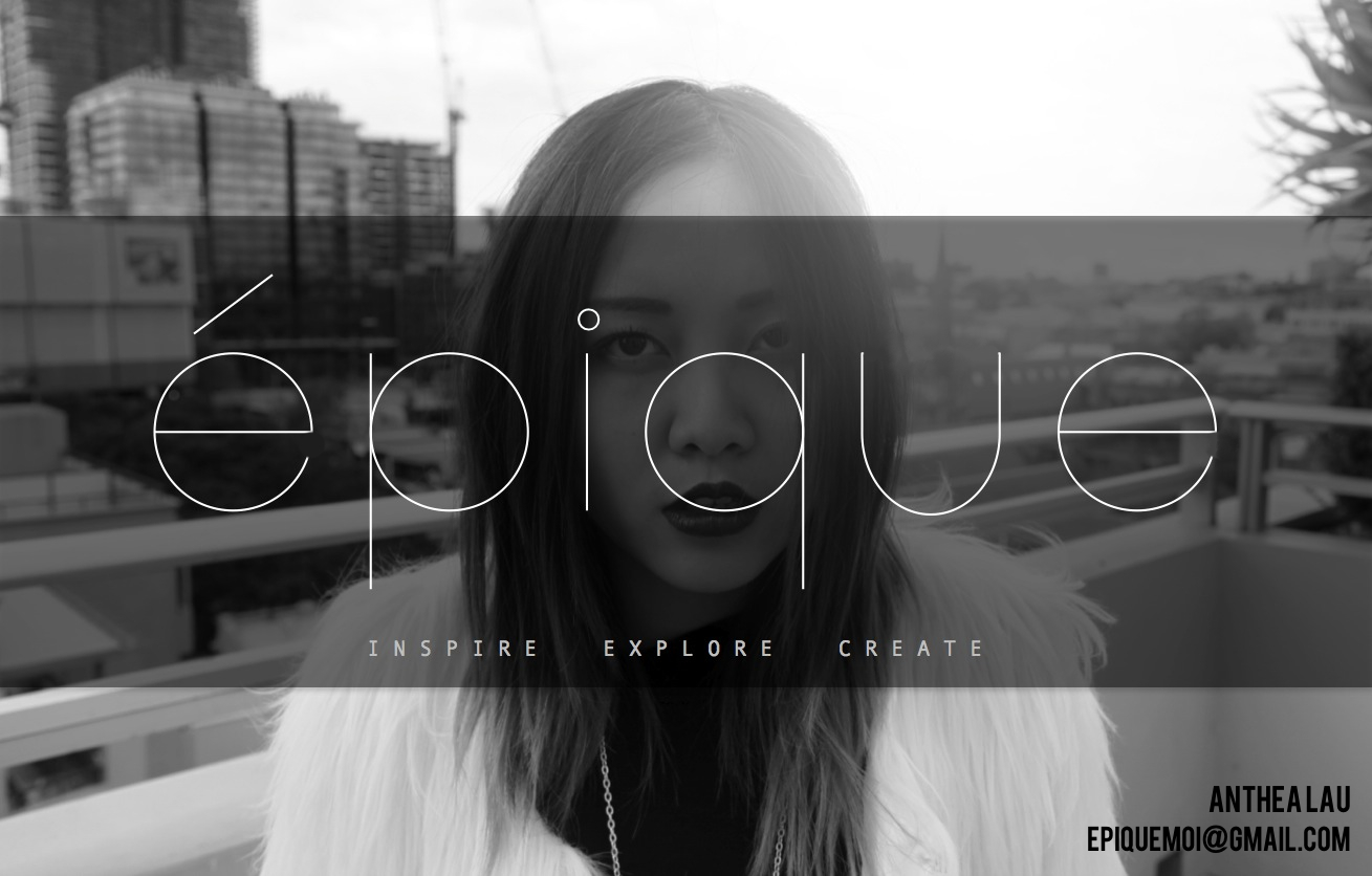 epique fashion and photography blog by anthea lau