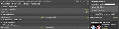 Apuestas Deportivas Rosberg Voleibol Femenino – Grand Prix Brasil Bet365