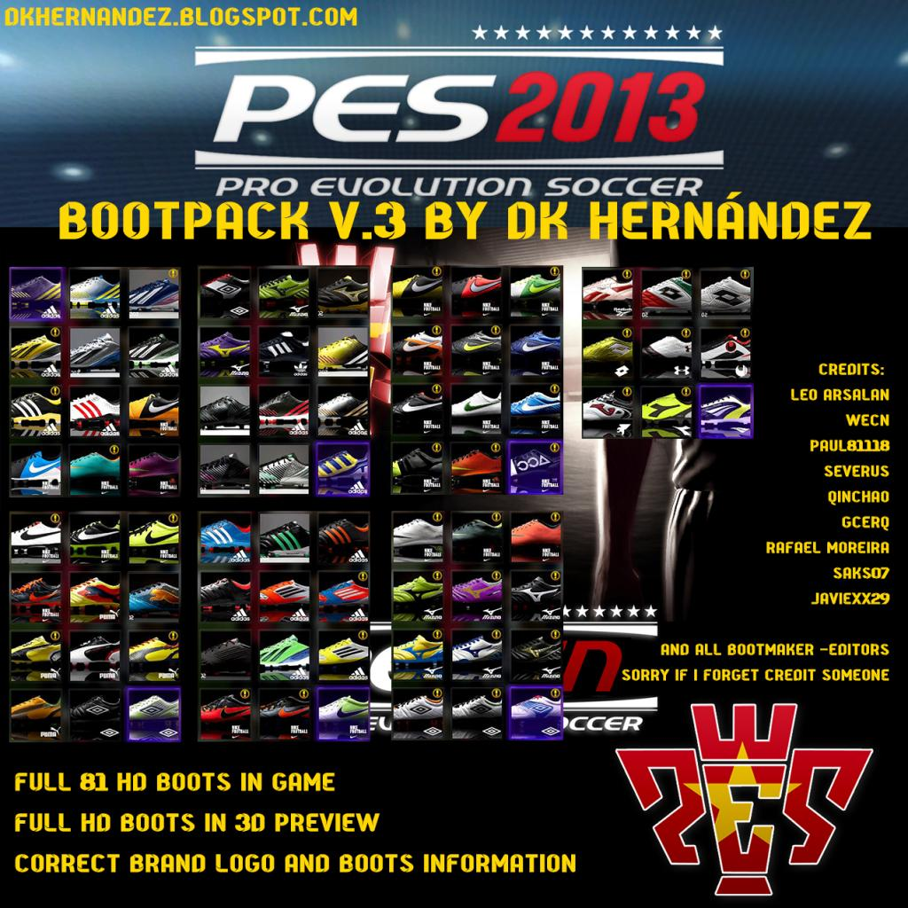 Full 81 HD BOOTS in Game Full HD BOOTS in 3D Preview Correct Brand ...