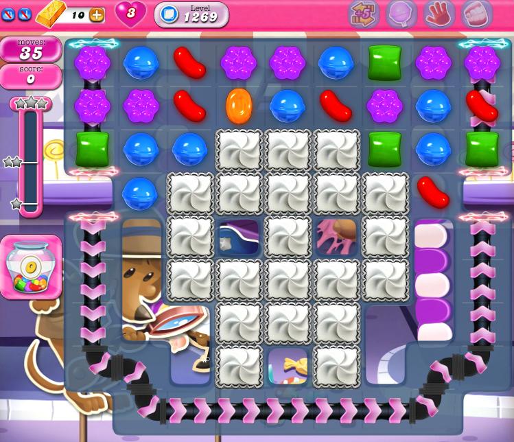 Candy Crush Saga 1269