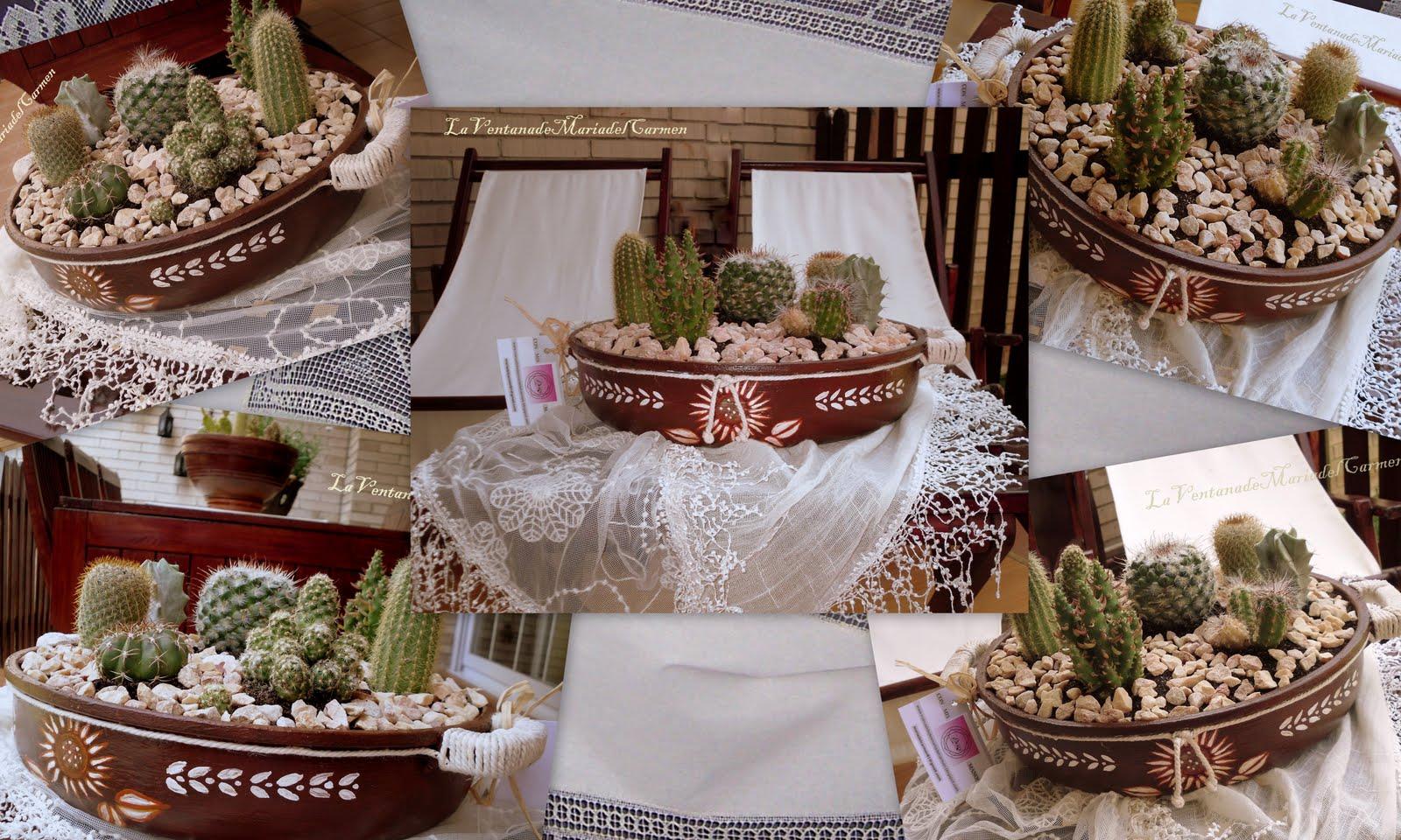 Manualidades la ventana de maria del carmen chicas for Como reciclar una mesa de tv vieja