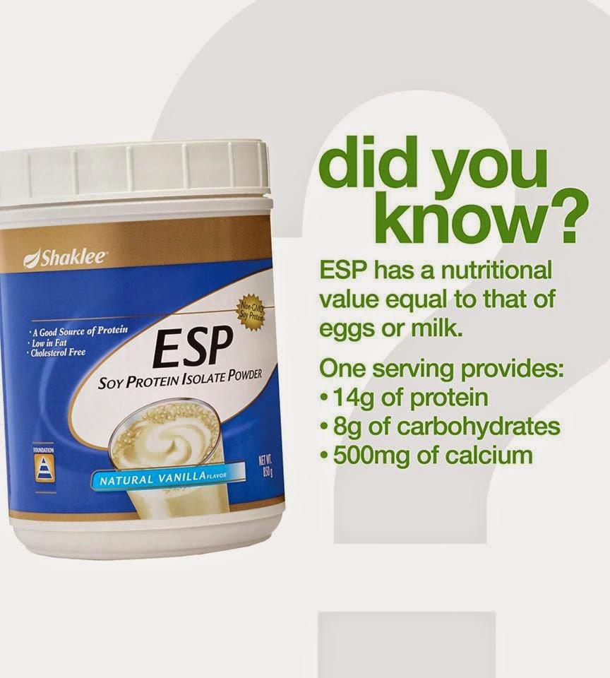 Kekurangan Protein, kepentingan ESP, ESP SHAKLEE