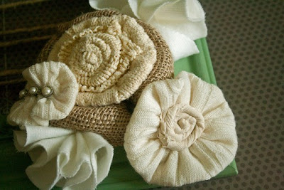 Fabric Flower Tutorials