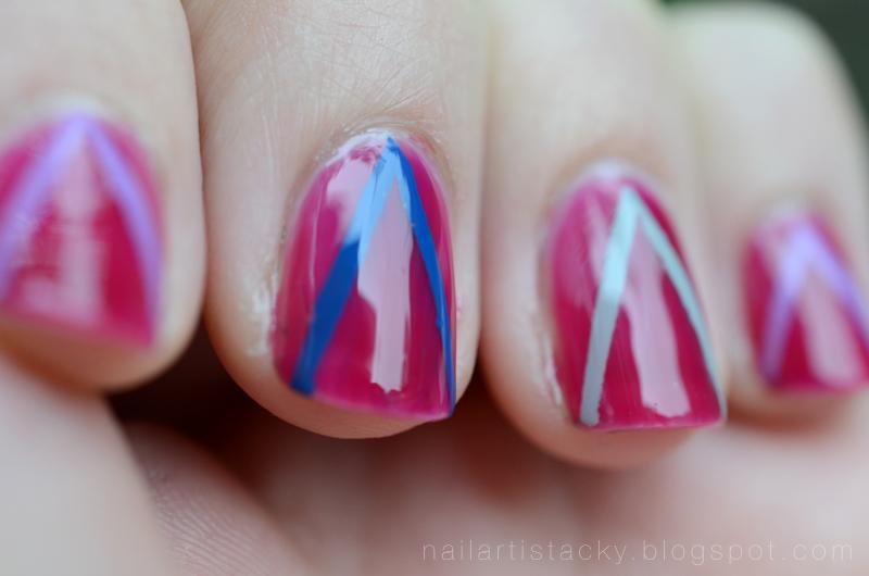 Zoya Paloma Swatch - Nail Art- Jelly Polish