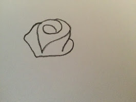 How To Draw A Simple Rose Step By Step For Beginners
