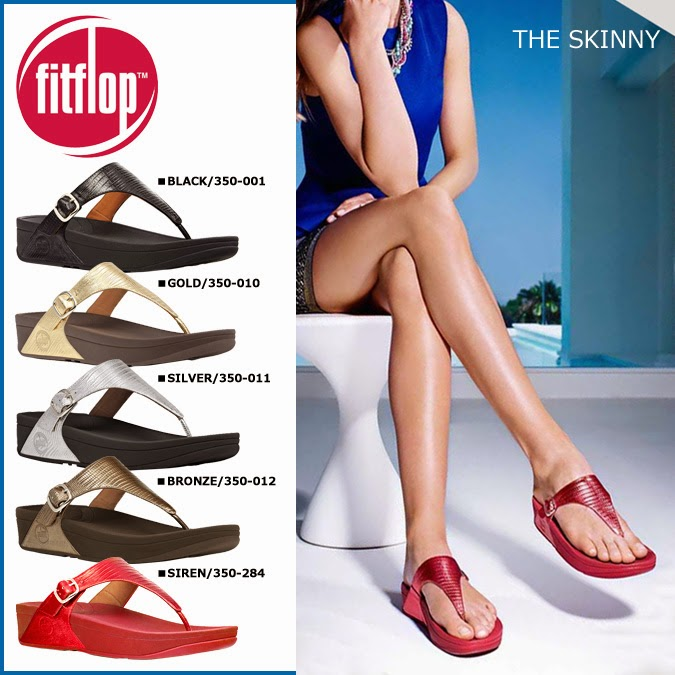 Jual Sandal Crocs Sandal Fitflop Skinny Original