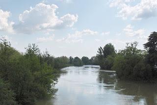 rando urbaine vers la Garonne et les îles du Ramier