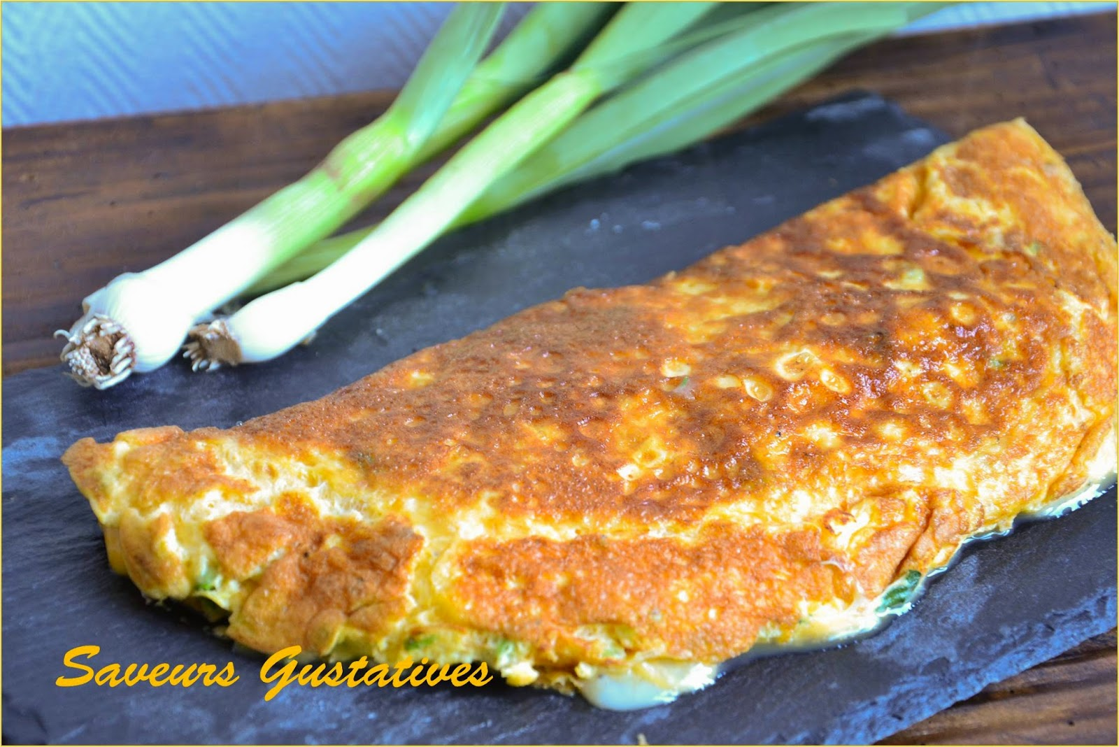 omelette au chèvre