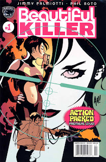 Cover of Beautiful Killer #1 from Black Bull Comics