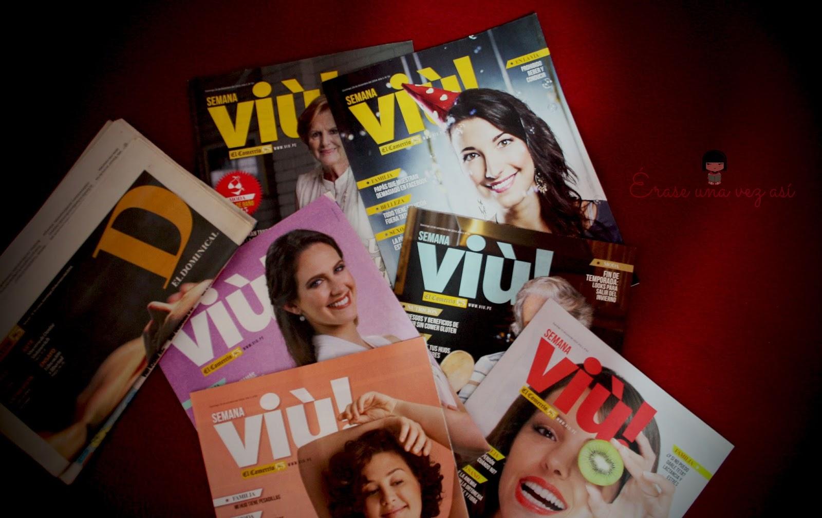 Revista viú, Diario El Comercio, lecturas para domingos, columna de Veronica Linares, columna de Natalia Parodi