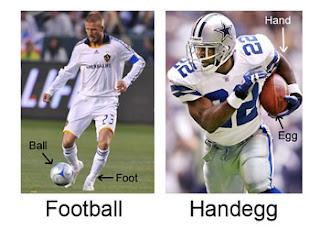 handegg football