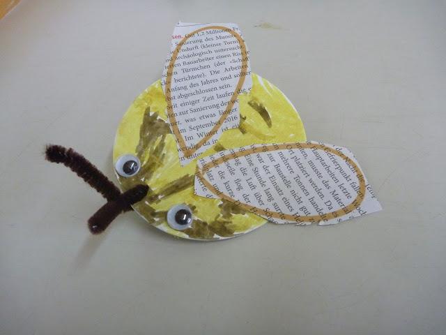 herzige Biene