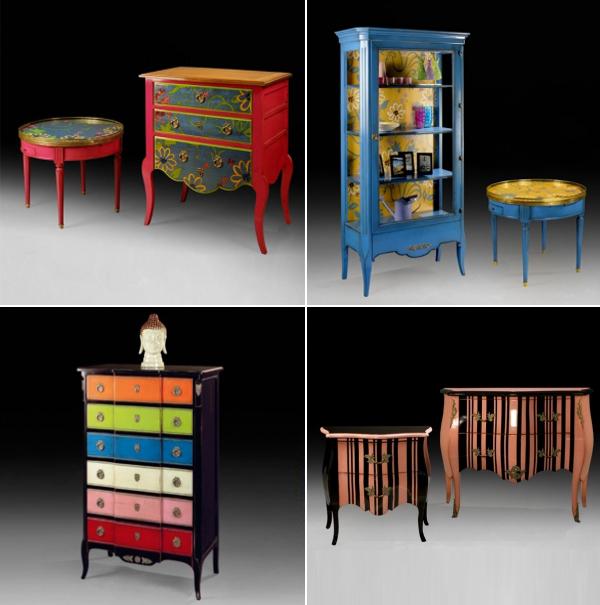 Moveis para decora o mobiliario interno classico colorido for Mobiliario 2 mao