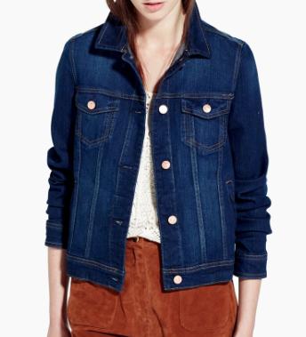Rebajas SS 2015 fondo de armario chaqueta denim clásica