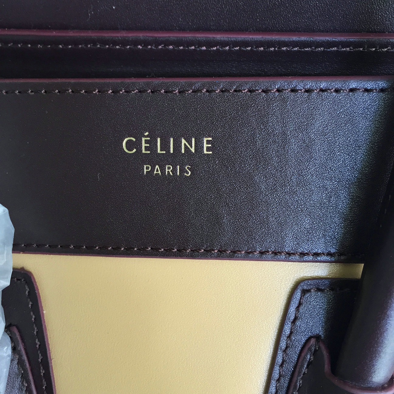 sac celine phantom - Pre shipment photos of Celine Luggage Tote bag Micro 26cm in best ...