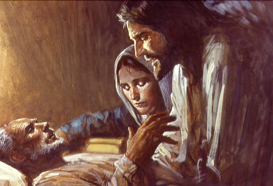 Resultado de imagem para A morte de José e a fé de Maria