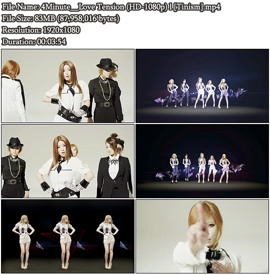 Download PV 4Minute - Love Tension (Full HD 1080p)
